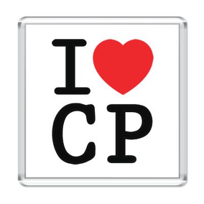 Магнит I love CP