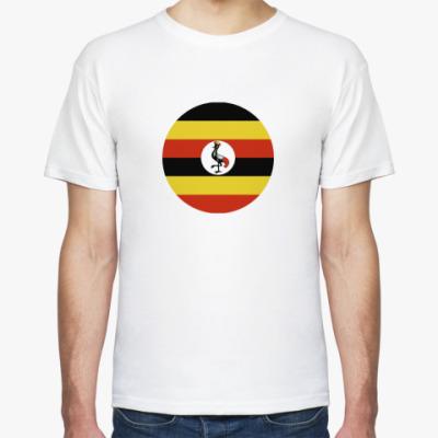Футболка Uganda, Уганда Флаг