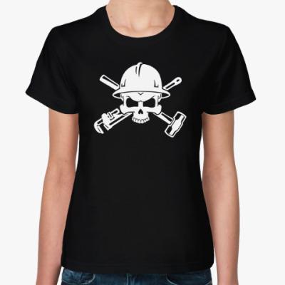 Женская футболка Нефть Газ Сервис
