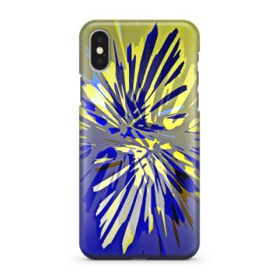 Чехол для iPhone X 'Цветок'