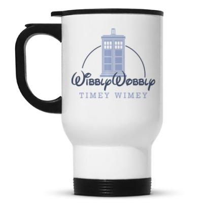 Кружка-термос Wibbly Wobbly Timey Wimey