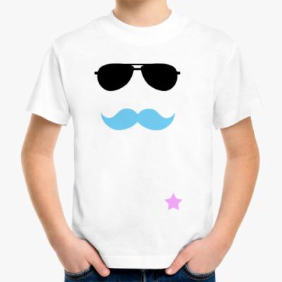 Детская футболка  Усатый нянь