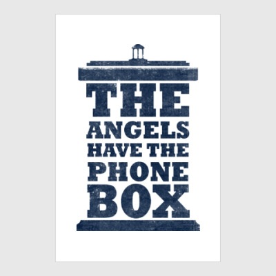 Постер The Angels Have The Phone Box