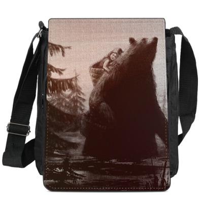 Сумка-планшет маша и медведь
