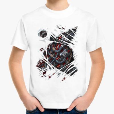 Детская футболка Киборг
