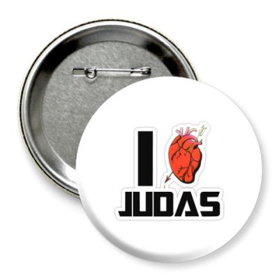 Значок 75мм Judas