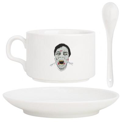 Кофейный набор Зомби