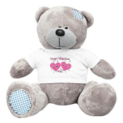 Плюшевый мишка Тедди Valentines Day