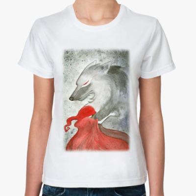 Классическая футболка Красная шапочка