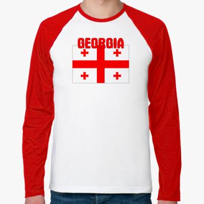 Футболка реглан с длинным рукавом Georgia (Грузия)