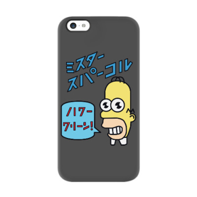 Чехол для iPhone 5c Симпсоны: Японский Гомер