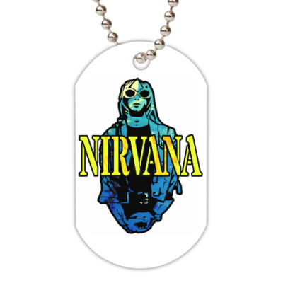 Жетон dog-tag Nirvana
