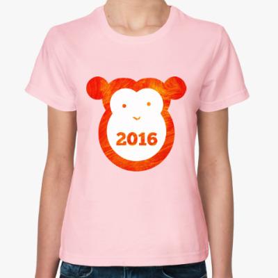 Женская футболка Год Огненной Обезьяны 2016