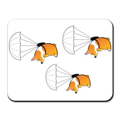 Коврик для мыши смешные собаки корги