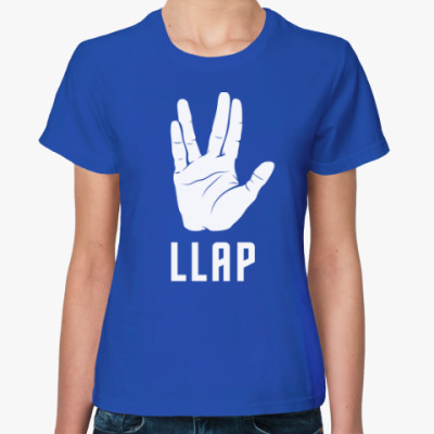 Женская футболка Live long and prosper