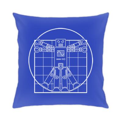 Подушка Витрувианский робот