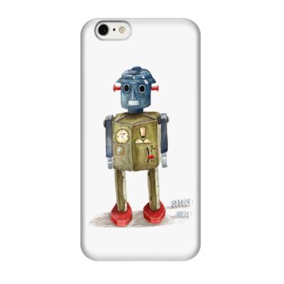 Чехол для iPhone 6/6s Винтажные игрушечные роботы