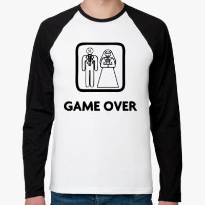 Футболка реглан с длинным рукавом Game Over