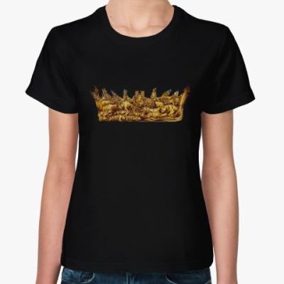 Женская футболка Игра Престолов: Корона