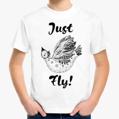 Детская футболка Just Fly!