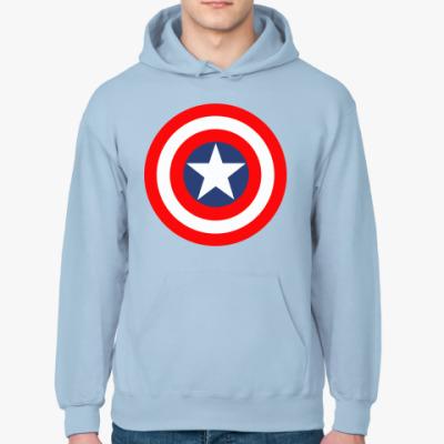 Толстовка худи Капитан Америка