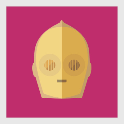 Постер Star Wars: C-3PO