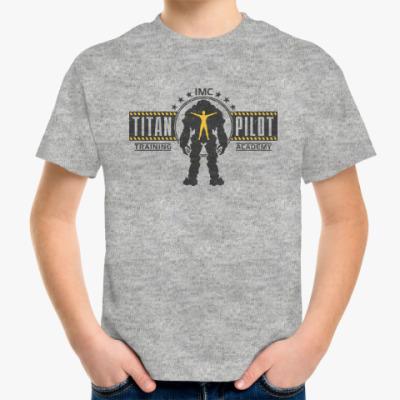 Детская футболка Battlefield Titan Pilot
