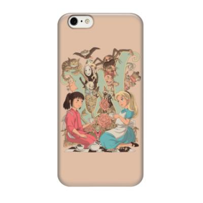 Чехол для iPhone 6/6s Wonderland Alice and Chihiro