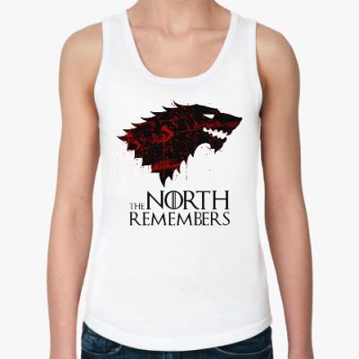 Женская майка The North Remembers