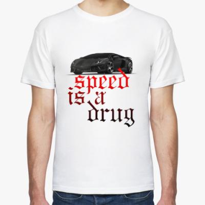 Футболка Speed is a drug