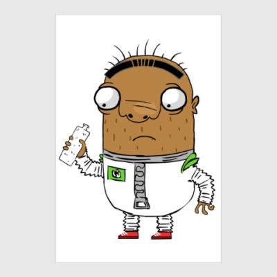 Постер Шамиль-астронавт