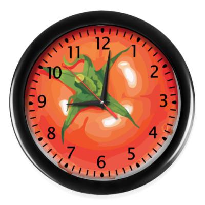 Настенные часы Помидор