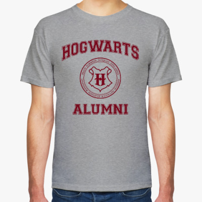 Футболка Hogwarts Alumni