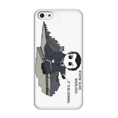 Чехол для iPhone 5/5s Sherlock