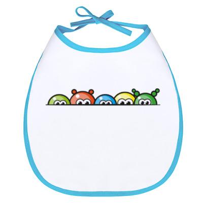 Слюнявчик Blobs - цветные шарики