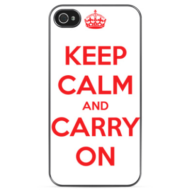 Чехол для iPhone Keep Calm