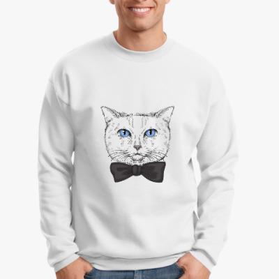 Свитшот Hipster Cat