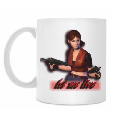 Кружка Claire Redfield из Resident Evil