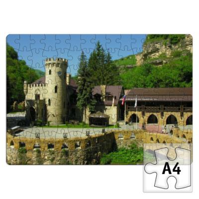 Пазл замок