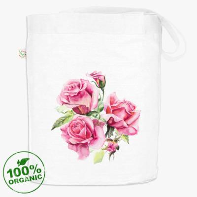 Сумка Три розовые розы