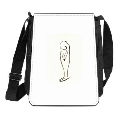 Сумка-планшет Тишина