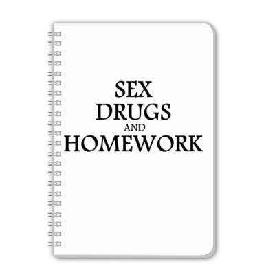 Тетрадь sex drugs