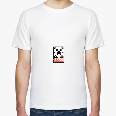 Футболка Minecraft - SSSS