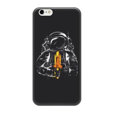Чехол для iPhone 6/6s Космонавт с леденцом