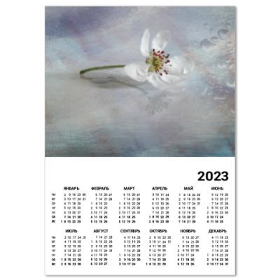 Календарь Цветок грушевого дерева
