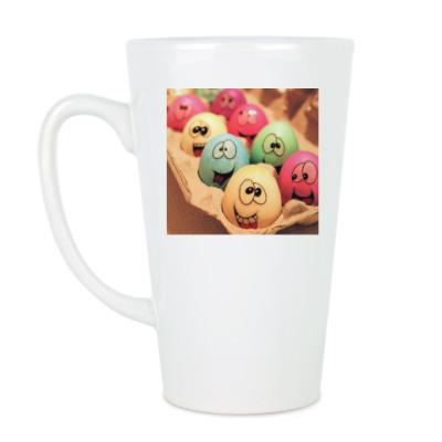 Чашка Латте Пасхальные яйца