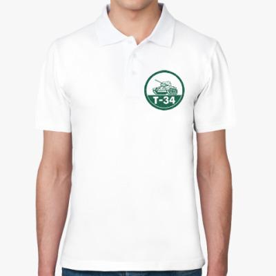 Рубашка поло Танк Т-34