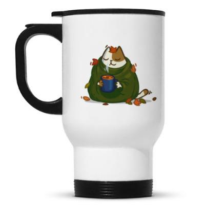 Кружка-термос Пятничный Котик №23