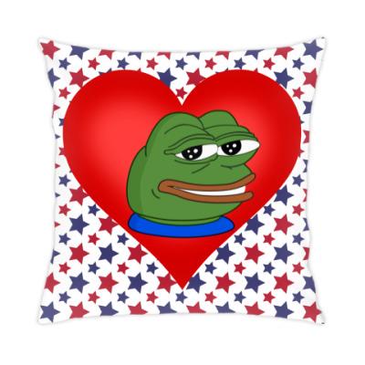 Подушка Pepe In My Heart