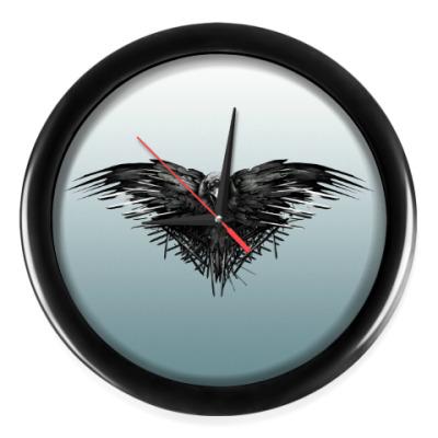 Настенные часы Игра Престолов: Ворон